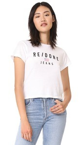 RE/DONE Logo Tee