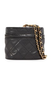 What Goes Around Comes Around Chanel Quilted Bucket Bag (Previously Owned)