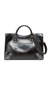 What Goes Around Comes Around Balenciaga Giant City Satchel (Previously Owned)