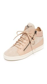 Giuseppe Zanotti High Top Zip Sneakers