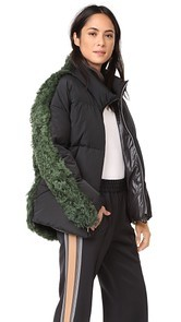 Sandy Liang Lorne Down Coat