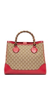 5e772b03502 What Goes Around Comes Around Gucci Bamboo Diana Tote (Previously Owned)