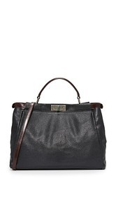 What Goes Around Comes Around Fendi Large Peekaboo Tote (Previously Owned)