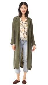 Haute Hippie Demi Coat