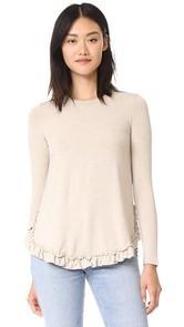 Otto dame Viaggio Ruffle Sweater
