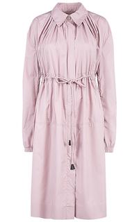 Женский розовый плащ La Reine Blanche