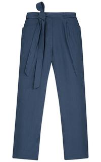 брюки с поясом La Reine Blanche