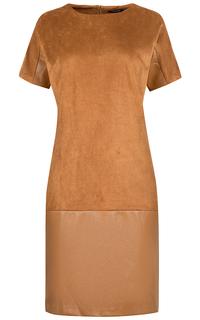 комбинированное платье Tom Tailor