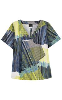 блузка с принтом Persona