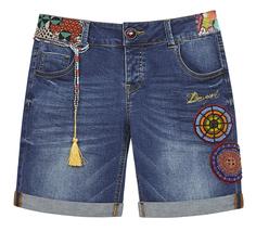 джинсовые шорты Desigual