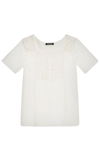 футболка с ажурными вставками Betty Barclay
