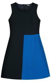 платье с гофрированной деталью Persona