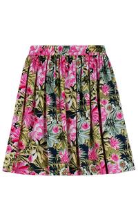 юбка с принтом La Reine Blanche