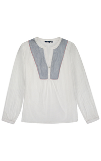 блузка из хлопка Tom Tailor