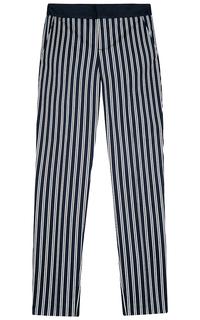 хлопковые брюки с принтом Tom Tailor