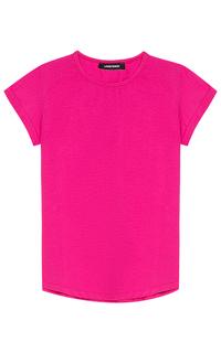 женская розовая футболка La Reine Blanche