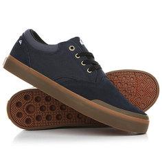 Кеды кроссовки низкие Quiksilver Verant Blue/Brown/Blue