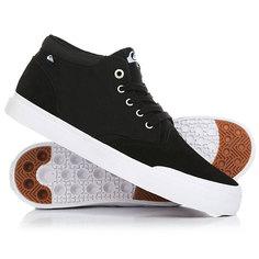Кеды кроссовки низкие Quiksilver Verant Mid Black/White