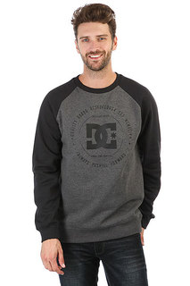 Свитшот DC Rebuilt Crew Charcoal Heather