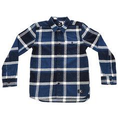 Рубашка в клетку детская DC Marsha Boy Washed Indigo