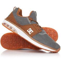 Кроссовки DC Heathrow Shoe Brown/Grey