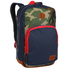 Рюкзак городской Nixon Range Backpack Navy/Woodland Camo