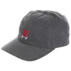 Бейсболка классическая Nixon Strapback Hat Gray