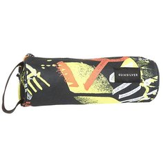 Пенал Quiksilver Penciloprint Black Thunderbolts