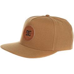 Бейсболка с прямым козырьком DC Proceeder Hats Wheat