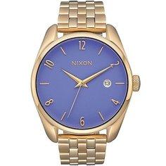 Кварцевые часы женские Nixon Bullet Gold/Lavender