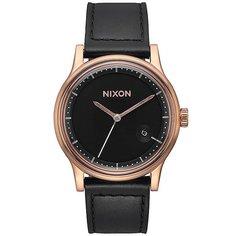 Кварцевые часы Nixon Station Gold/Black
