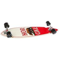 Лонгборд Nor Cal True Republic Pintail Cruzer Beige/Red 9.58 x 39 (99 см)