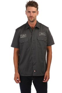 Рубашка Dickies North Irwin Charcoal Grey