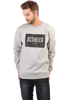 Свитшот DC Squareside Crew Grey Heather