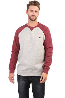 Свитшот Quiksilver Everydaycrew Light Grey Heather