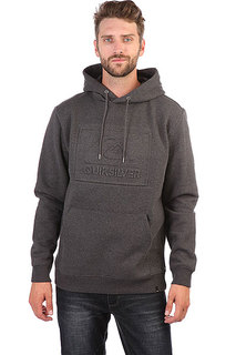 Толстовка кенгуру Quiksilver Boxsprayhood Grey Heather