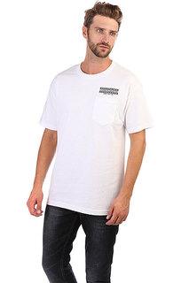 Футболка Independent Boarder Pocket White