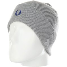 Шапка Fred Perry Merino Wool Beanie Grey