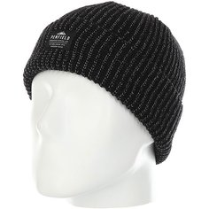 Шапка Penfield Acc Twist Reflective Beanie Black