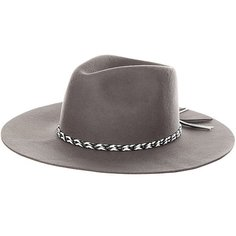 Шляпа Brixton Midland Fedora Grey