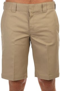 Шорты Dickies In Slim Straight Work Short Khaki