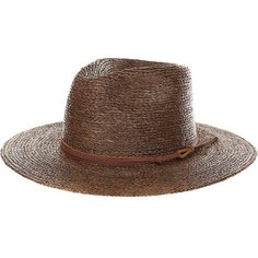 Шляпа Brixton Simpson Fedora Brown