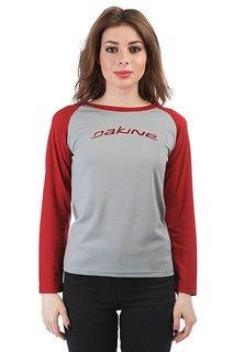 Лонгслив женский Dakine New Flo Rider Jersey Grey