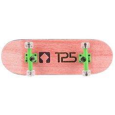 Фингерборд Turbo-Fb П10 Wide 32м с деревянным боксом Pink/Gold/Clear