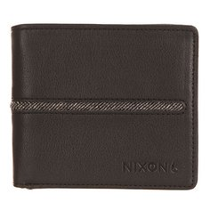 Кошелек Nixon Coastal Bi-Fold Zip Wallet Black