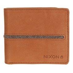 Кошелек Nixon Coastal Bi-Fold Zip Wallet Saddle