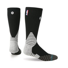 Носки средние Stance Nba Oncourt Solid Crew Black
