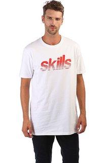 Футболка Skills Stripes Snow White