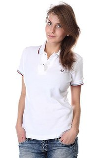 Поло женское Fred Perry Shirt White