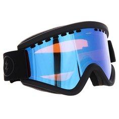 Маска для сноуборда Electric Egv Matte Black Brose/Blue Chrome